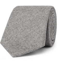 Altea 8cm Mélange Virgin Wool and Cashmere-Blend Tie