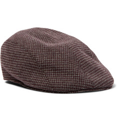 Altea Puppytooth Flannel Flat Cap