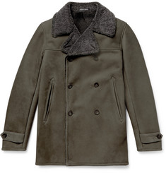 Richard James - Double-Breasted Shearling Coat