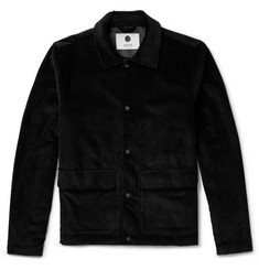NN07 New Olaf Cotton-Corduroy Overshirt