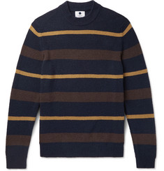 NN07 Martin Striped Knitted Sweater