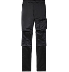 Raf Simons Space Slim-Fit Satin Trousers