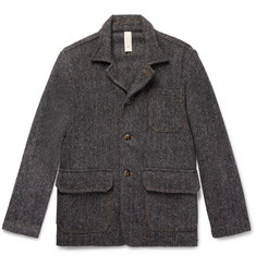 MAN 1924 Wool-Herringbone Jacket