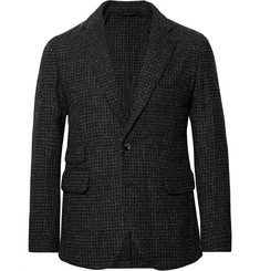 MAN 1924 Charcoal Houndstooth Harris Tweed Blazer