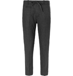 MAN 1924 Slim-Fit Tapered Wool and Cashmere-Blend Drawstring Trousers