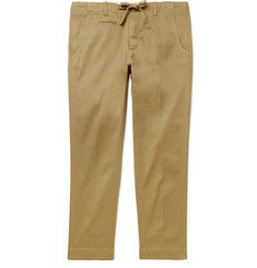 MAN 1924 Slim-Fit Tapered Stretch-Cotton Twill Trousers