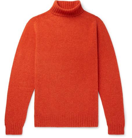 Wool Rollneck Sweater by Man 1924