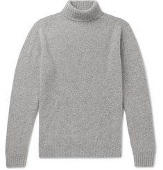 MAN 1924 Mélange Wool Rollneck Sweater