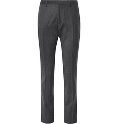 Paul Smith Grey Slim-Fit Wool and Cashmere-Blend Suit Trousers