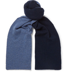 Isaia - Reversible Cashmere Scarf