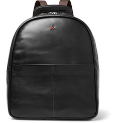 Isaia Leather Backpack