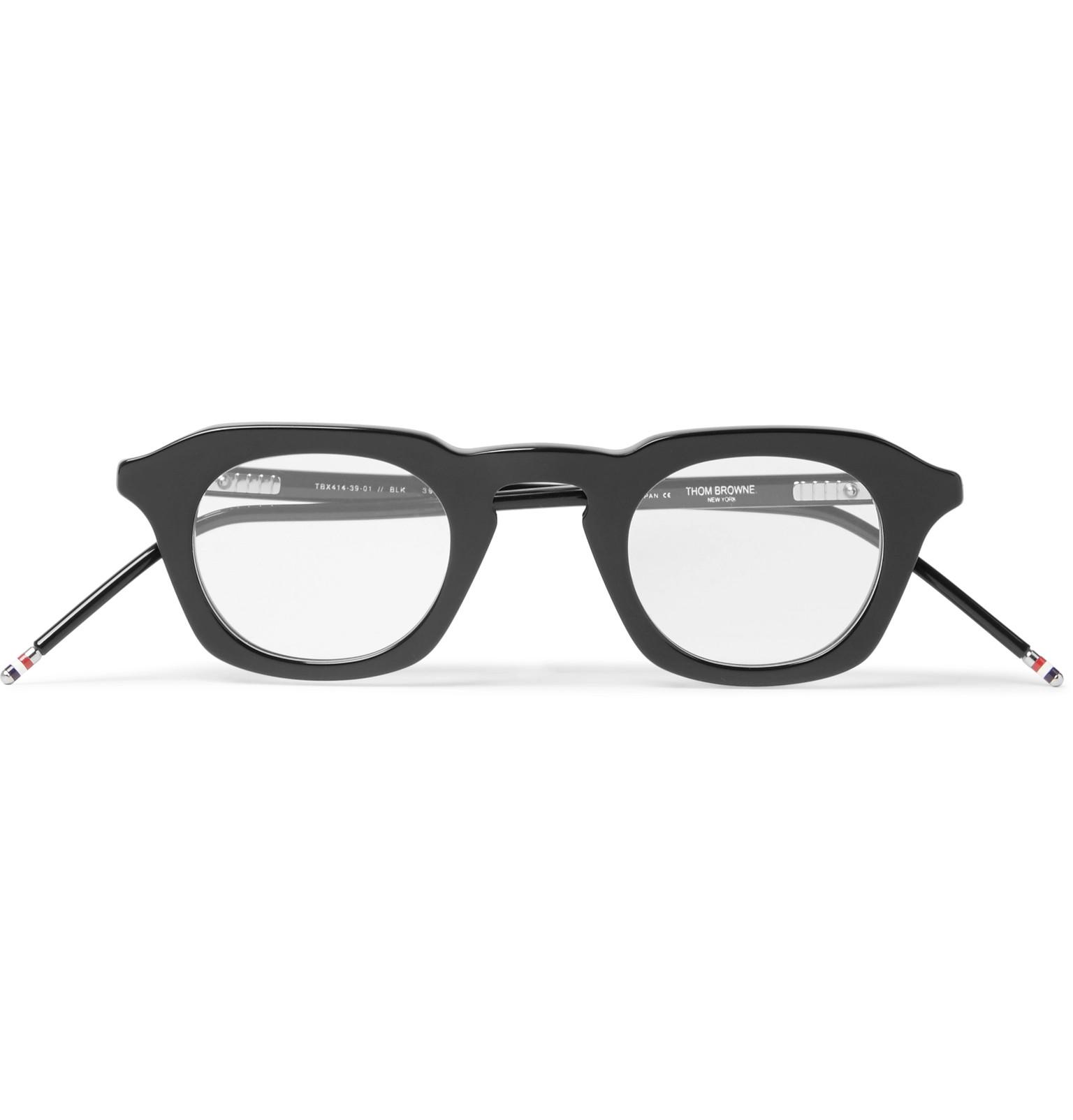 Thom Browne - 414 D-Frame Acetate Optical Glasses