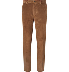 Lardini Slim-Fit Cotton-Corduroy Trousers