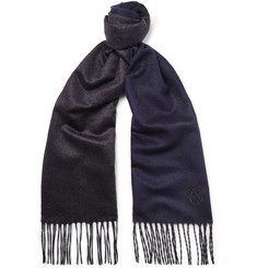 Canali - Silk and Cashmere-Blend Scarf
