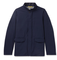 Canali Water-Repellent Shell Jacket