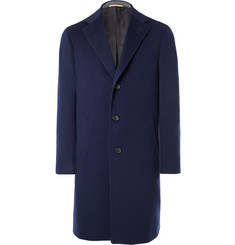 Canali Kei Wool and Cashmere-Blend Coat