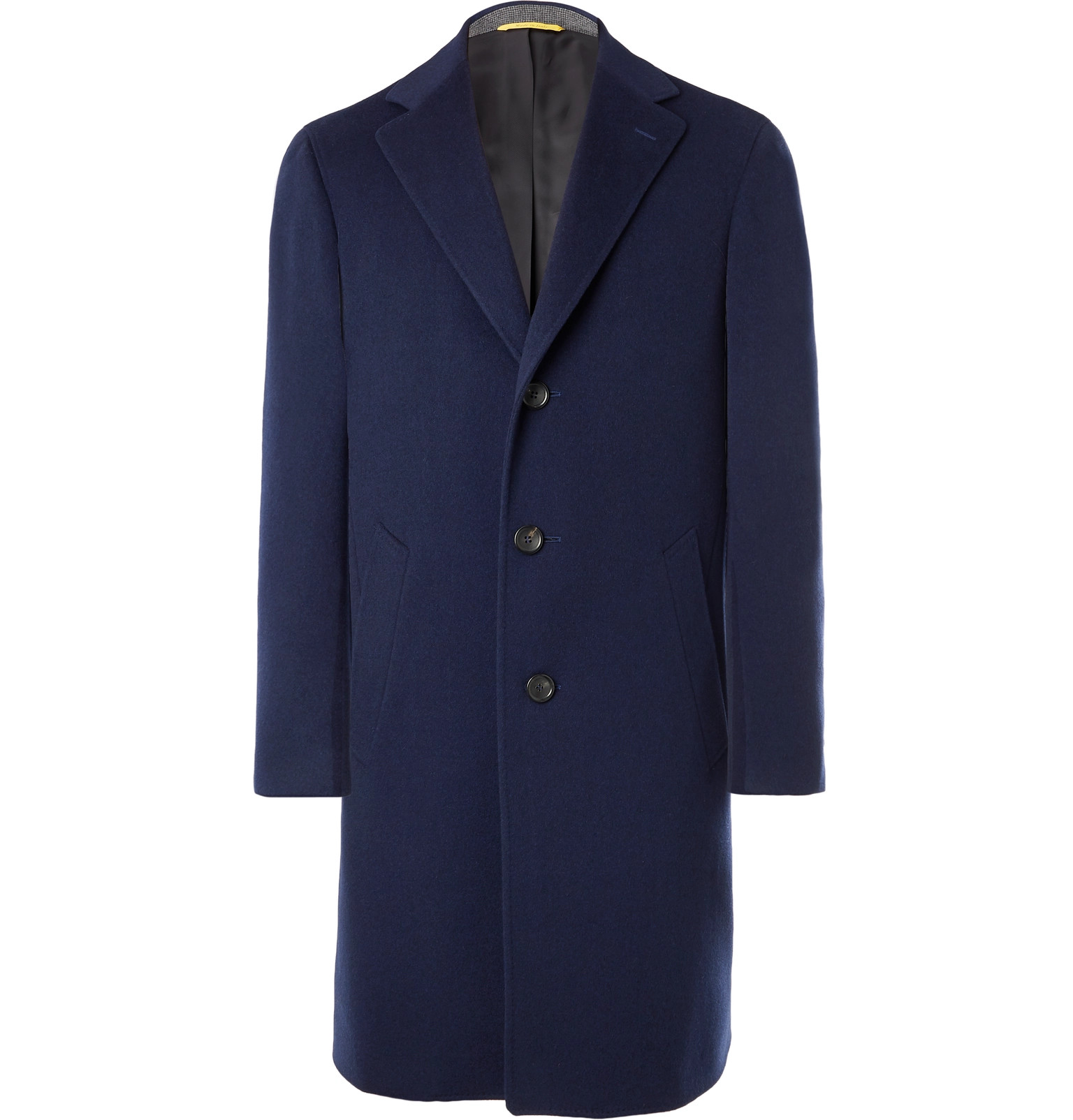 Kei Cashmere blend Wool Coat Canali Navy And zEqzr
