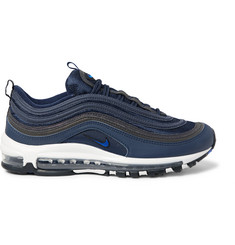Nike Air Max 97 Mesh and Leather Sneakers