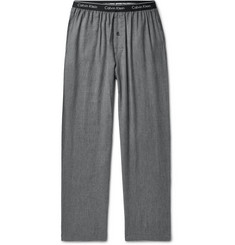 Calvin Klein Underwear Checked Cotton-Blend Pyjama Trousers
