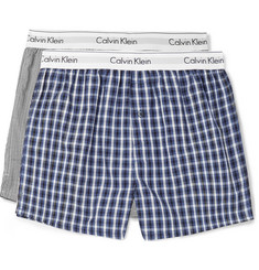 Calvin Klein Underwear - Two-Pack Printed Cotton Boxer Shorts