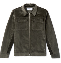 AFFIX Service Cotton-Velvet Jacket