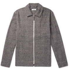 Très Bien - Prince of Wales Checked Cotton and Wool-Blend Blouson Jacket