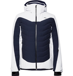 Kjus Sight Line Two-Tone Quilted Down Ski Jacket