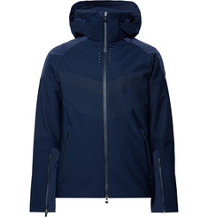 Kjus Freelite Stretch-Knit Hooded Ski Jacket