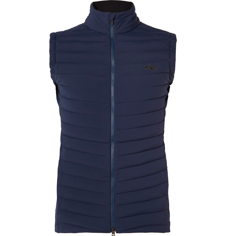 Macun Insulator Slim-fit Quilted Gilet - Navy