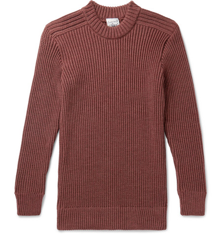 Fang Ribbed Merino Wool Sweater by S.N.S. Herning