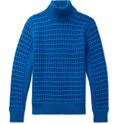 S.N.S. Herning - Textured Merino Wool Rollneck Sweater