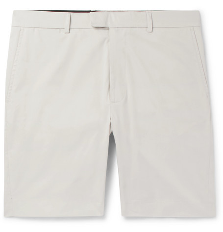 Stretch-cotton Chino Shorts Enlist YvX1J