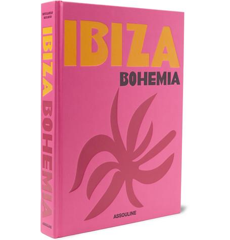 ASSOULINE Ibiza Bohemia Hardcover Book in Pink