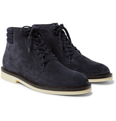 Loro Piana - Icer Walk Cashmere-Lined Water-Repellent Suede Boots