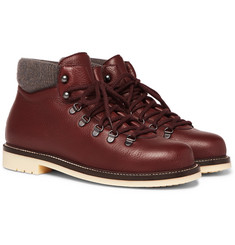 Loro Piana - Laax Full-Grain Leather Boots
