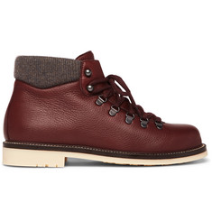 Loro Piana Laax Full-Grain Leather Boots