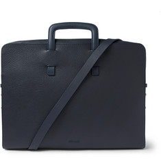 Miansai Slim Full-Grain Leather Briefcase
