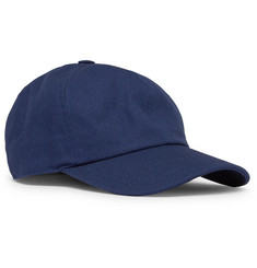 Maison Kitsuné Cotton-Blend Twill Baseball Cap