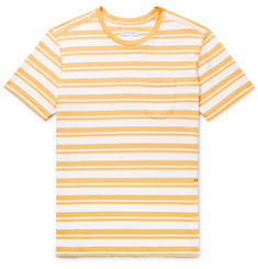 Pop Trading Company Striped Cotton-Jersey T-Shirt