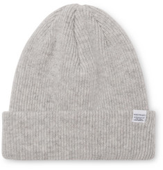 Norse Projects - Ribbed Mélange Merino Wool Beanie