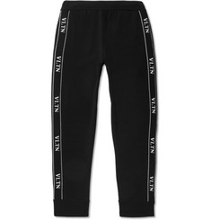 Valentino Logo-Trimmed Tech-Jersey Sweatpants