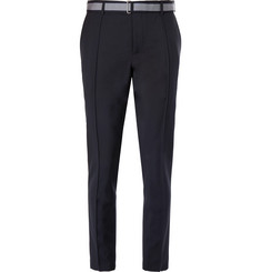 Valentino Tapered Wool and Mohair-Blend Trousers