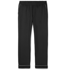 Valentino Piped Silk Drawstring Trousers