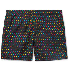 Valentino Mid-Length Star-Print Swim Shorts