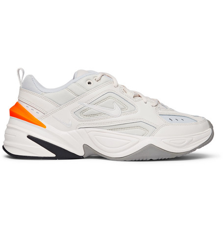 Nike Leathers M2K TEKNO LEATHER, NYLON AND MESH SNEAKERS