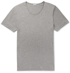 Zimmerli - Mélange Sea Island Cotton-Jersey T-Shirt