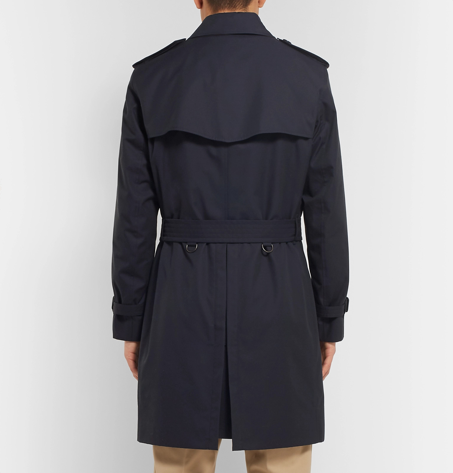 Gilet Trench Breasted Cotton Detachable Coat Double With Gabardine Burberrykensington qpUZaZ