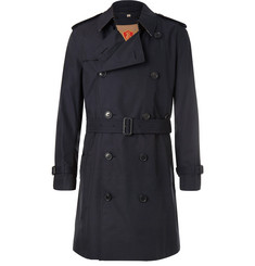 Burberry - Kensington Double-Breasted Cotton-Gabardine Trench Coat with Detachable Gilet