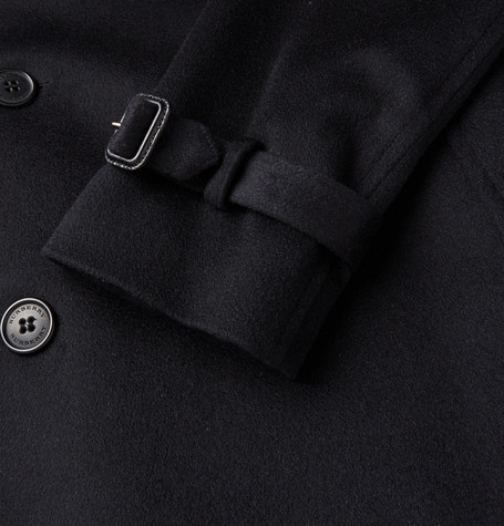 Kensington Cashmere Trench Coat by Burberry