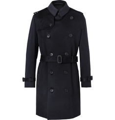 Burberry - Kensington Cashmere Trench Coat